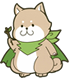 サブキャラクター「いた杉太郎」